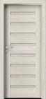 Interiérové dveře Verte PREMIUM, skupina D Portadoors showroom Praha